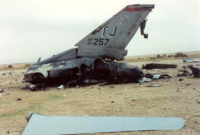 Một máy bay F-16 của Mỹ bị lực lượng phòng không Iraq bắn hạ.