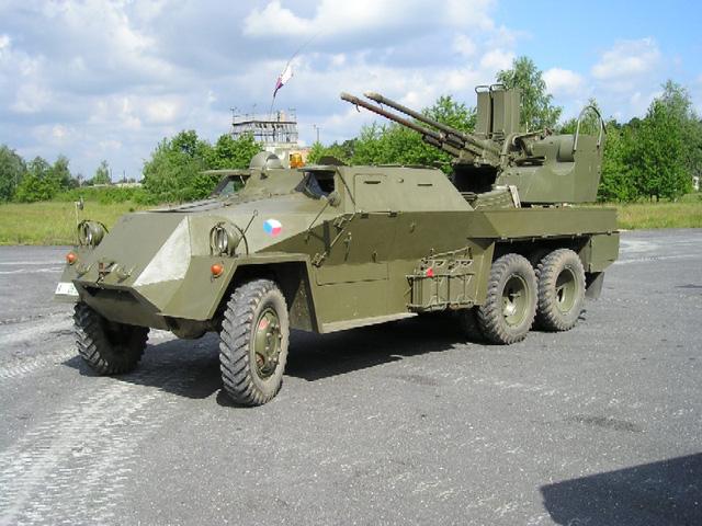Vz.53/59 PLDvK lizard sử dụng 2 pháo cỡ 30mm PldvK vz. 53/59.