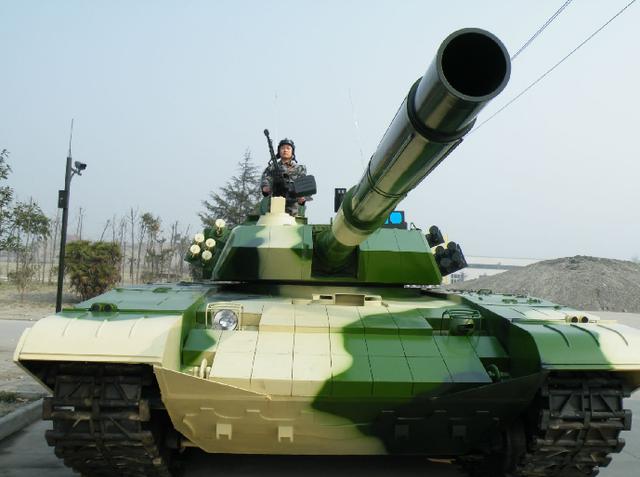Xe tăng chiến đấu chủ lực Type 99 của Trung Quốc.