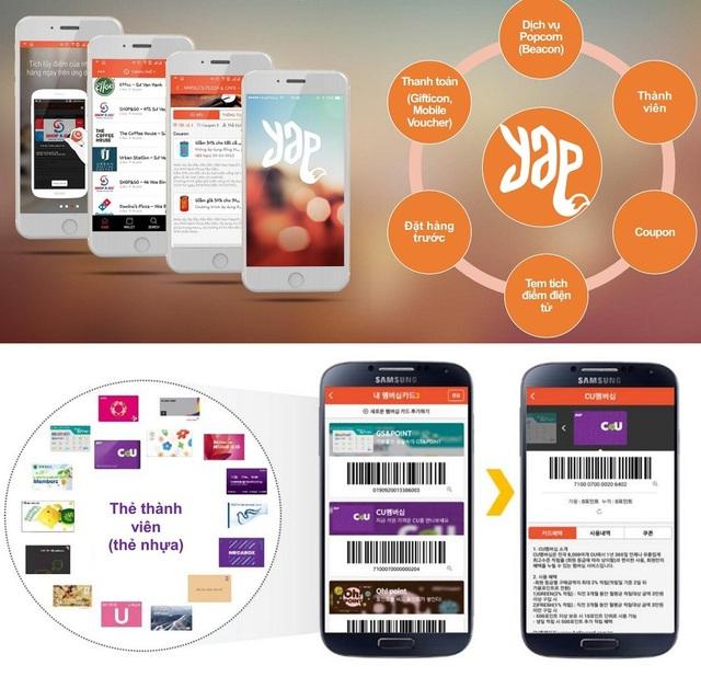 YAP là ứng dụng thông minh dành cho bạn trẻ sành điệu