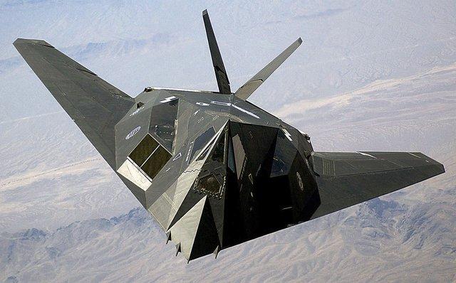 Máy bay tàng hình F-117