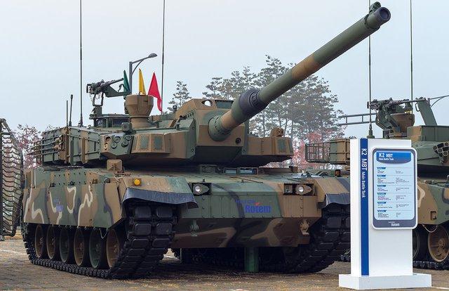 Xe tăng K2 Hàn Quốc