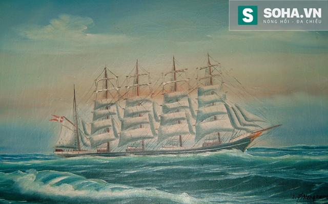 Kobenhavn là con tàu cánh buồm lớn nhất thế giới thời kỳ đó.