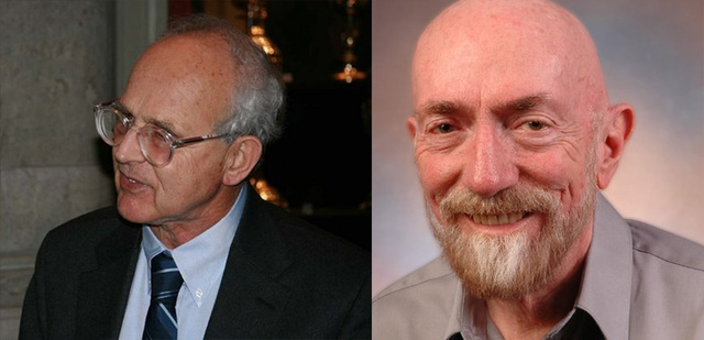 Nhà vật lý học Rainer Weiss và giáo sư Kip Thorne, 2 người có công lớn trong quá trình phát triển LIGO