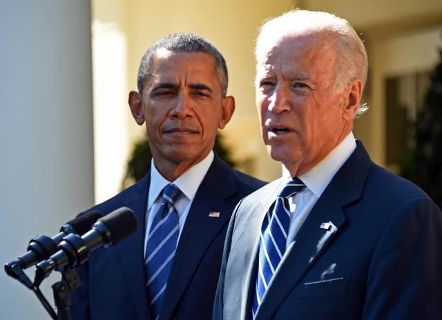Tổng thống Mỹ Barack Obama và Phó tướng Joe Biden. Ảnh AFP/TTXVN.
