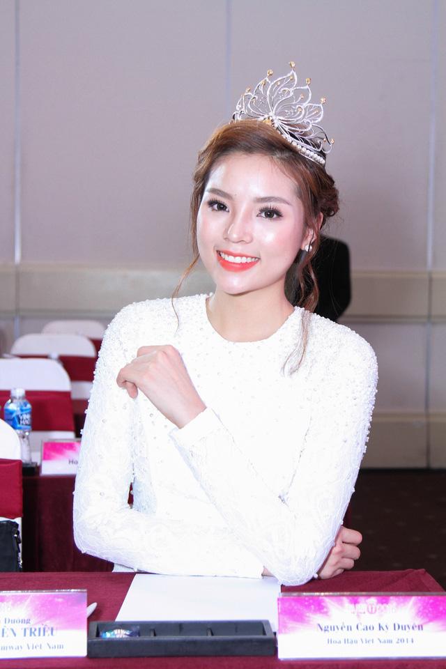 Nhan sắc hiện tại của Hoa hậu Việt Nam 2014 Kỳ Duyên.