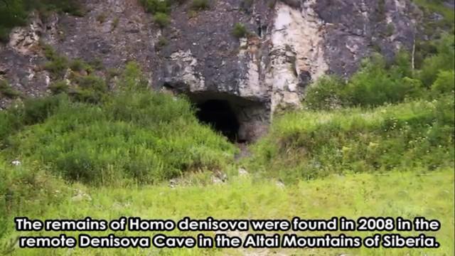 Trong tháng 3 năm 2010, các mảnh xương của người chưa thành niên của giống người này sống cách đây khoảng 41.000 năm trước được khám phá ra tạihang Denisova(vùng Altai,Nga), một vùng cũng có người ở tại cùng một thời điểm củangười Neanderthalvà con người hiện đại.