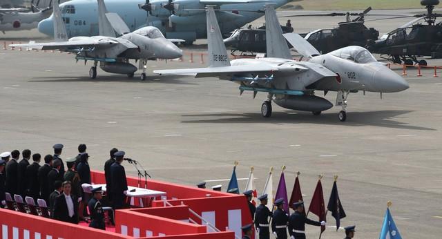 Ở khu vực biển Hoa Đông, Lực lượng phòng vệ Nhật Bản cũng nhiều lần ngăn chặn các máy bay Trung Quốc. (Ảnh minh họa)