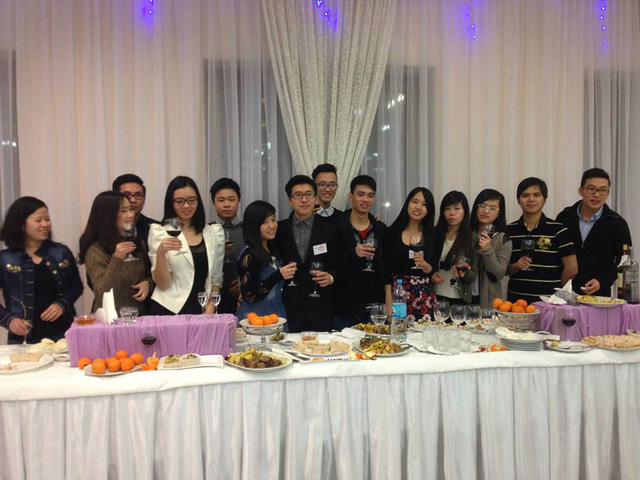 Cộng đồng du học sinh Việt tổ chức đón Tết
