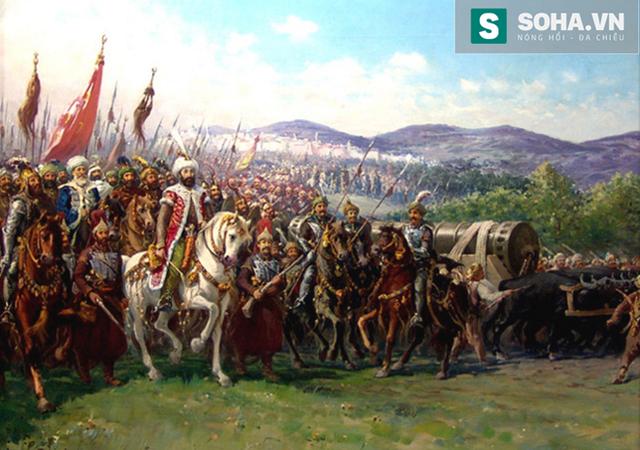Đế chế Ottoman mới nổi.