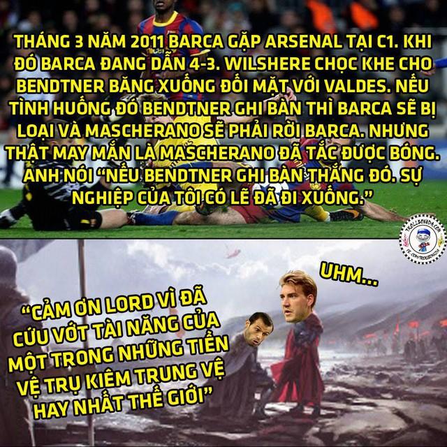 Bendtner vô cùng nhân từ!