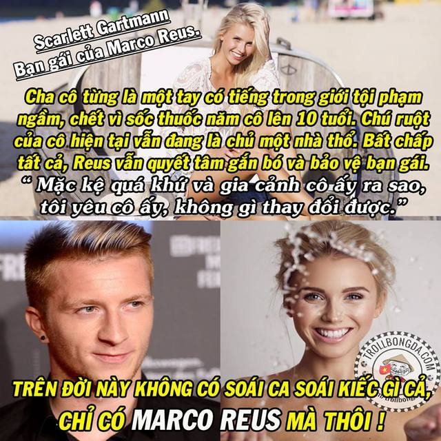 Marco Reus quả là chàng trai tốt.
