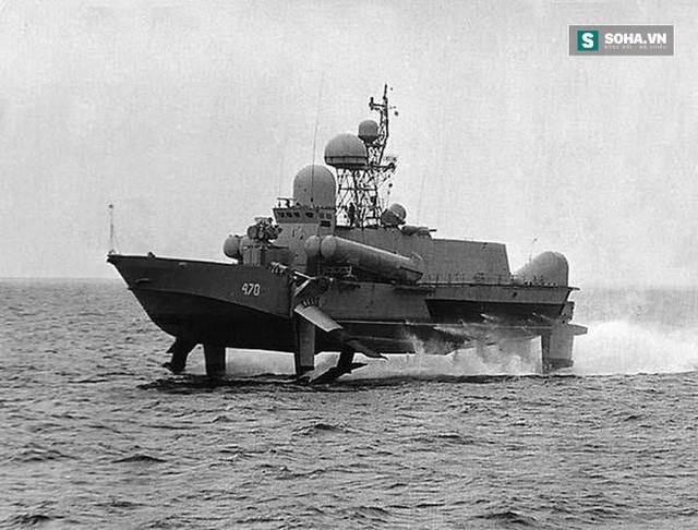 Tàu tên lửa cánh ngầm Dự án 1240 Sarancha của Liên Xô