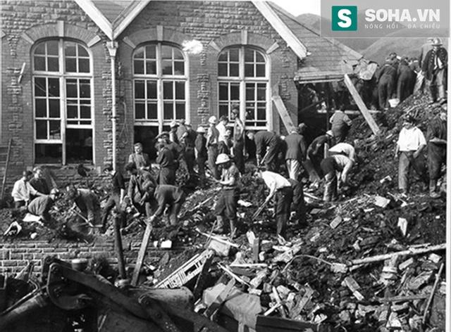 Vụ lở đất kinh hoàng tại Abefan năm 1966.