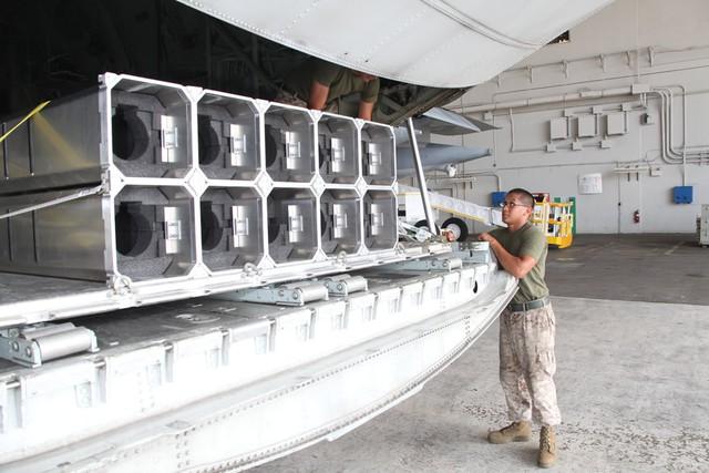 Hệ thống vũ khí Gunslinger trên AC-130W
