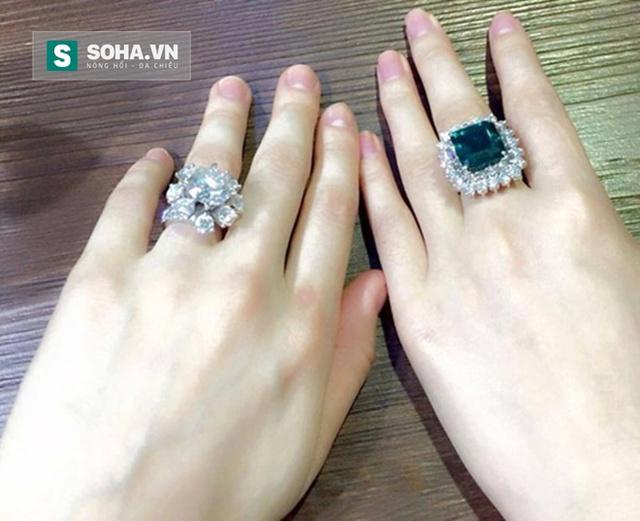 Muốn an ủi chồng, người phụ nữ này lại mua thêm một chiếc nhận kim cương giả nữa để lòe thiên hạ. (Ảnh minh họa)