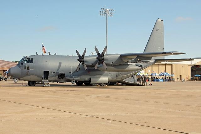 MC-130W Dragon Spear được hoán cải thành AC-130W Stinger II vào tháng 5/2012