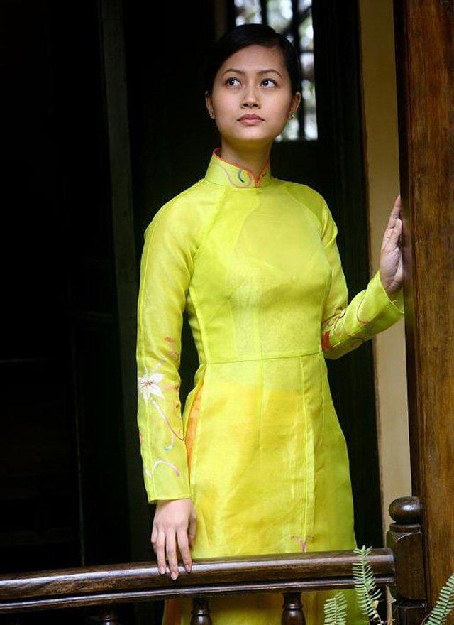 Vẻ đẹp ngây thơ và thùy mị của Hải Yến cũng giúp cô tạo được nét riêng của mình trong lòng khán giả.