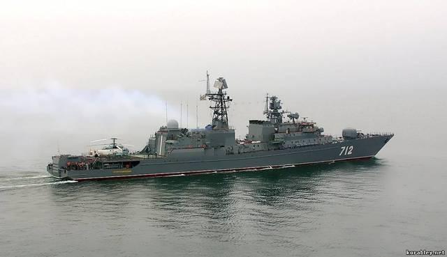 Tàu khinh hạm Neustrashimyy (Dự án 11540 Yastreb).