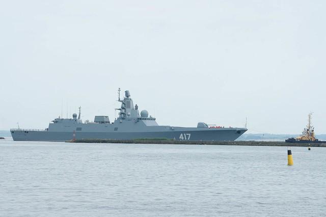 Tàu khinh hạm Đô đốc Gorshkov.