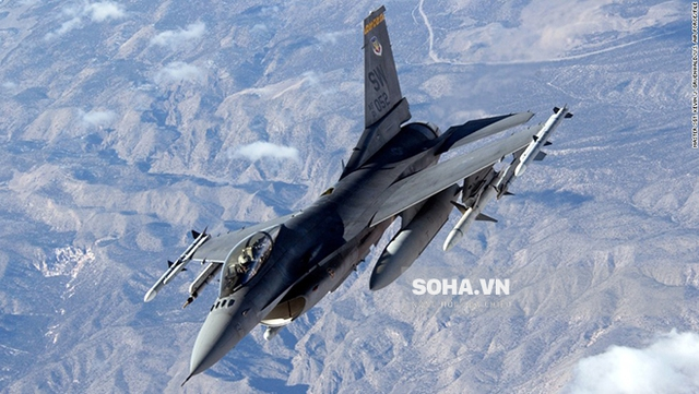 Máy bay chiến đấu F-16. Ảnh: CNN