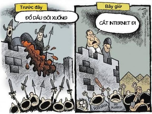 Thử tượng tưởng thế giới này không có internet mà xem. Chẳng hình phạt nào dã man hơn là cắt internet. Nhiều người có thể không ăn, không ngủ nhưng không thể không có mạng.