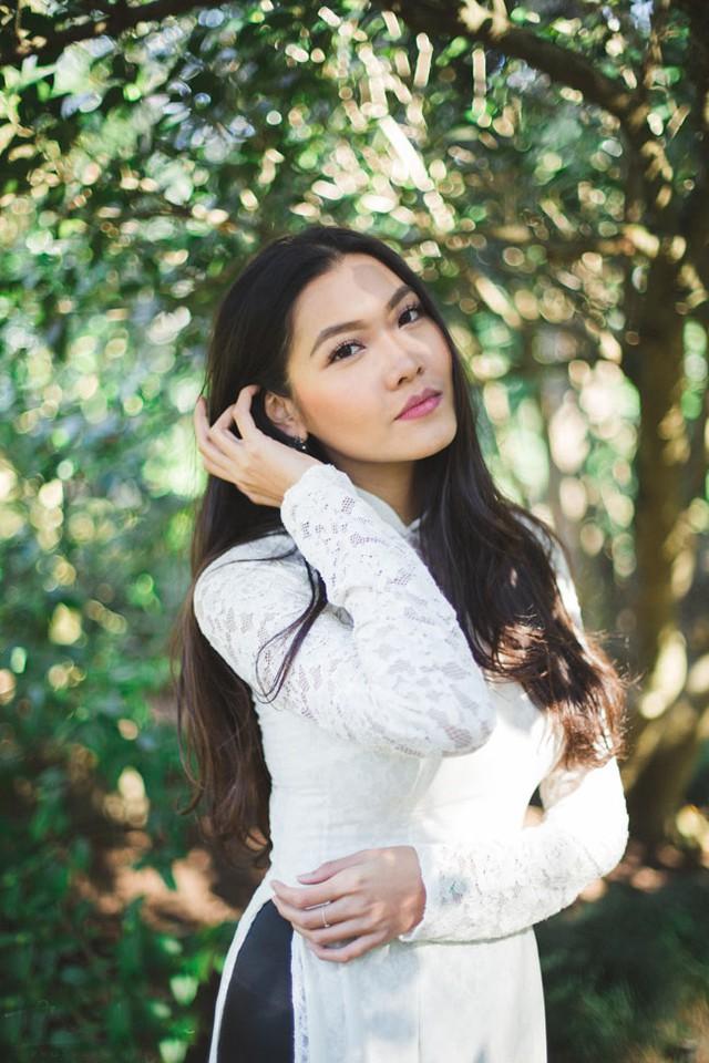 Nữ sinh Y khoa không chỉ gây ấn tượng bởi nhan sắc xinh đẹp, chiều cao khủng (1m78) mà còn khiến nhiều người ngưỡng mộ về tài năng, học thức.