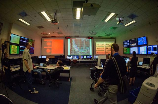 Bên trong khu vực điều hành của LIGO