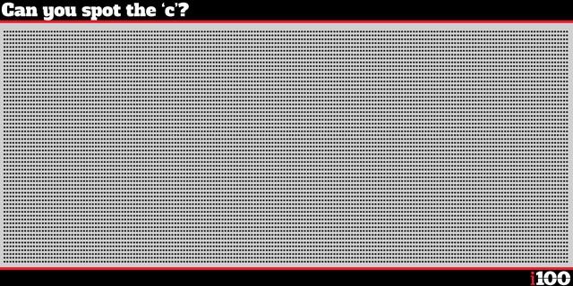 Bạn sẽ cực đỉnh nếu phát hiện được chữ c trong bức ảnh này