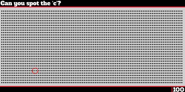 Bức hình này có làm khó đôi mắt tuyệt cú mèo của bạn?