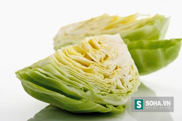 Nhờ nguồn dinh dưỡng dồi dào, từ lâu cải bắp đã nổi danh là loại thực phẩm đại bổ.