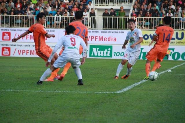 HAGL đã chơi không tồi trước Đà Nẵng.