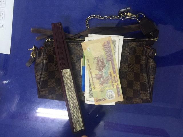 Tang vật của vụ cướp