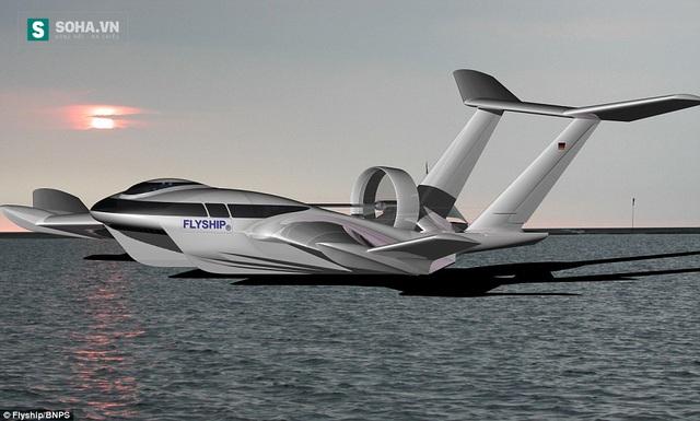 FlyShip là phương tiện của tương lai, không điịnh nghĩa được là thuyền hay máy bay