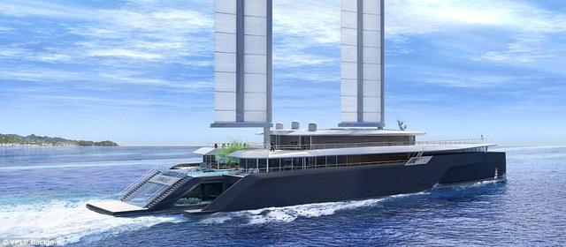 Siêu du thuyền Komorebi sang trọng thích hợp với các tỷ phú và người nổi tiếng
