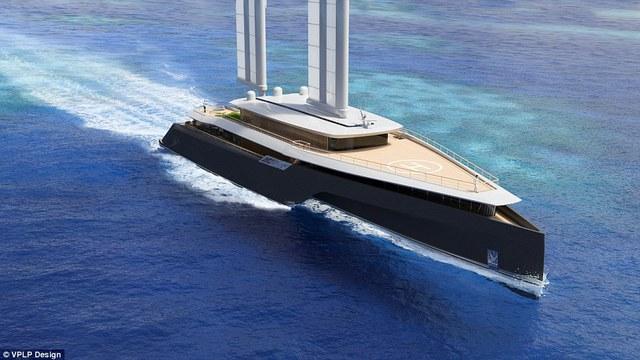 Du thuyền có thể đi trong vùng biển nông, chật hẹp