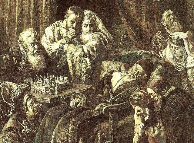 Sa hoàng Ivan chết khi đang chơi cờ và cái chết này rất bí ẩn.
