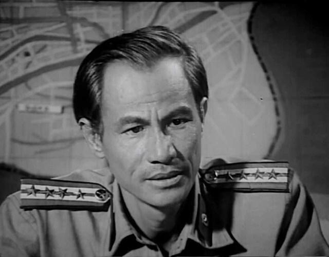 Vai chiến sỹ công an trong phim Đằng sau một số phận.