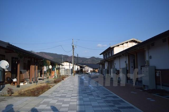 Khu định cư Ogaguchi Icchome vừa được hoàn thành. (Ảnh: Nguyễn Tuyến-Gia Quân/Vietnam+)