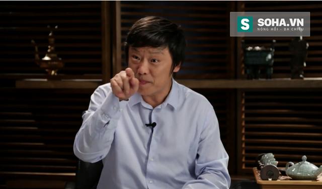 Tổng biên tập Thời báo Hoàn Cầu Hồ Tích Tiến, người đưa tin của một Trung Quốc phức tạp. Ảnh: Guancha.cn