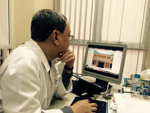 PGS Bác sĩ Đỗ Quốc Hùng - Nguyên trưởng khoa C7 Viện Tim mạch Quốc gia.