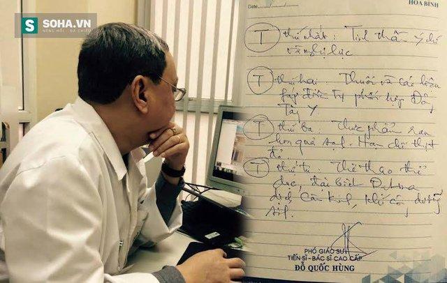 PGS Đỗ Quốc Hùng và bí quyết 4 chữ T giúp ông vượt qua căn bệnh ung thư (Ảnh: Lệ Nam)