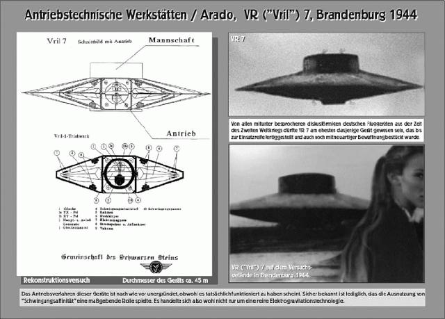 Một bản thiết kế đĩa bay.