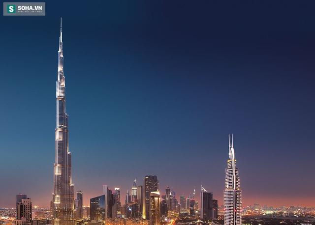 Tháp Burj Khalifa ở Dubai