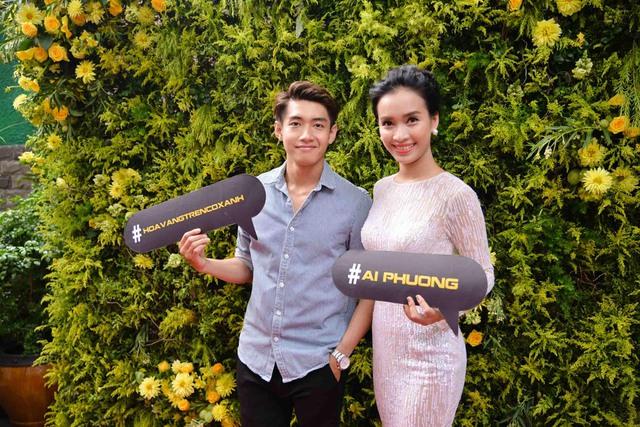 Bận rộn chuẩn bị cho liveshow tiếp theo của The Remix, song biên đạo Quang Đăng vẫn sắp xếp thời gian để đến ủng hộ Ái Phương.