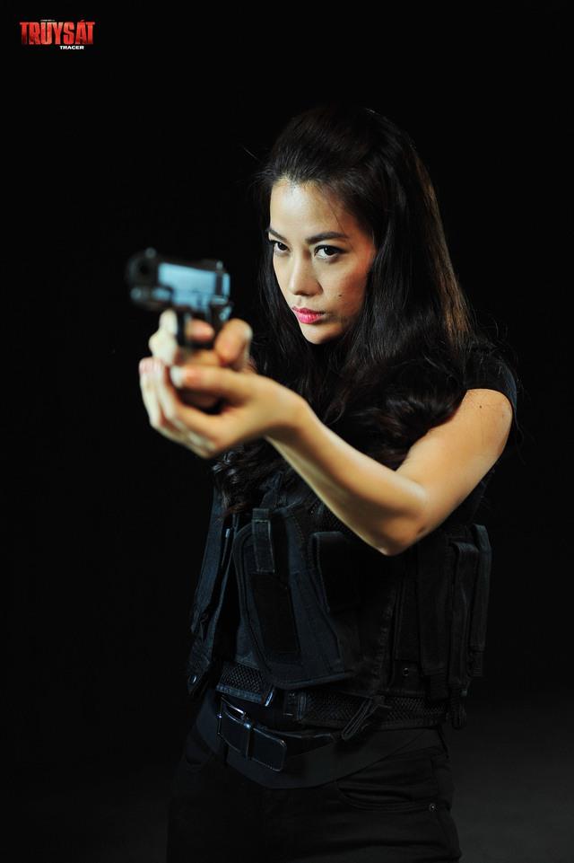 Hình ảnh của Trương Ngọc Ánh trong phim Truy Sát.