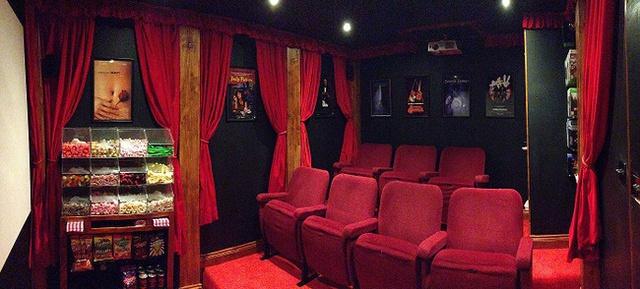 Vâng, nó chính xác là một rạp chiếu phim mini...