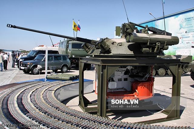 Cận cảnh module chiến đấu có người điều khiển Berezhok.