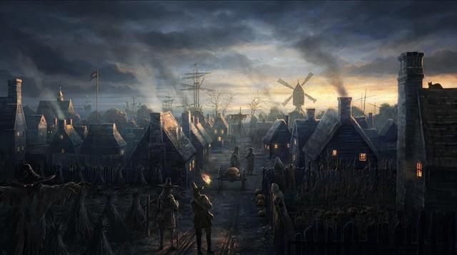 Hiệp sĩ thu thuế của người dân trên vùng đất mình bảo vệ.