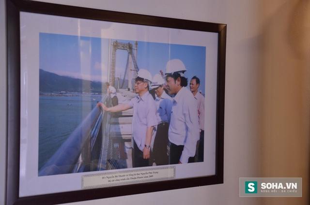Hình ảnh ông Thanh cùng Tổng Bí thư Nguyễn Phú Trọng trong một chuyến công tác